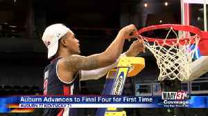 Auburn advances to the Final Four for the first time [Video]