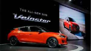Hyundai Announces Veloster Recall For Defective Engines [Video]