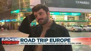 Road Trip Europe: Romanian-born poet Miguel Gane reflects on European identity [Video]