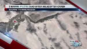 Marine Pilots Helicopter Crash [Video]