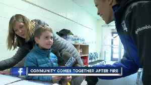 5-year-old boy donates birthday money to Bayside fire victims [Video]