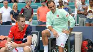 Federer Defeats Isner At Miami Open [Video]