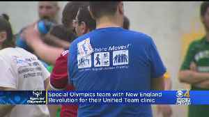 Special Olympics Teams Up With New England Revolution For Unified Team [Video]