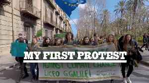 My First Protest: Marching for climate change in Italy [Video]