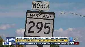 NPS to attack pothole issue by repaving entire BW Parkway by years end [Video]
