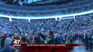 Final Four bound Michigan State team given warm welcome in East Lansing [Video]