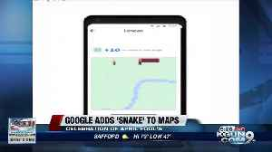Google Maps adds city-themed 'Snake' game to app [Video]