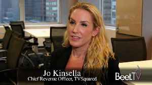 TV Is A Performance Channel, Too: TVSquared's Kinsella [Video]
