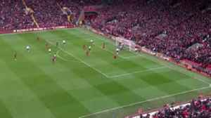 Van Dijk launches ball out of Anfield [Video]