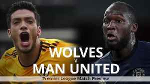 Premier League preview: Wolves v Manchester United [Video]