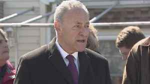 Sen. Charles Schumer News Conference On Flood Insurance [Video]