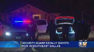 Security Officer Charged With Murder In Shooting Death At Apartment [Video]