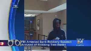 Bank Robbery Suspect Arrested [Video]