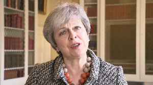Theresa May gives statement on rise in knife crime [Video]