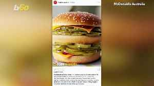 McDonald's Australia 'McPickle Burger' April Fools Joke Leaves Many In A Pickle! [Video]