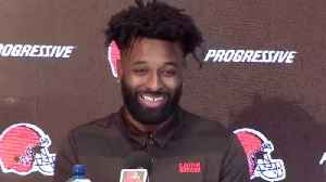 Cleveland Browns wide receiver Jarvis Landry: 'I cried' when I heard we traded for WR Odell Beckham Jr. [Video]