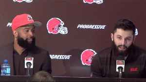 Odell Beckham Jr.'s full introductory press conference with the Cleveland Browns [Video]