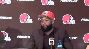 Cleveland Browns wide receiver Odell Beckham Jr. shares how his 'idol' Los Angeles Lakers forward LeBron James reached out to hi [Video]