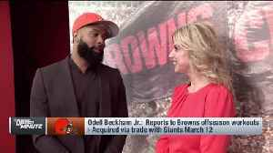 Cleveland Browns wide receiver Odell Beckham Jr. on quarterback Baker Mayfield: We're going to be 'dangerous ... It's a perfect  [Video]