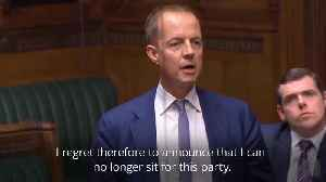 Nick Boles resigns from Tories after MPs vote against customs union [Video]