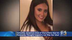 Cause Of Death Announced In Murder Of Samantha Josephson [Video]