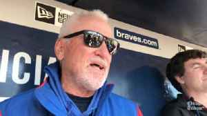 Joe Maddon on Cubs-Rangers series: 'They just kicked the last field goal' [Video]