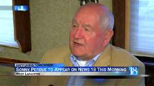 Sonny Perdue to appear on News 18 Tuesday morning [Video]
