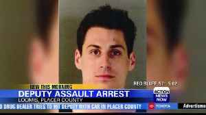 Placer County Sheriff's Office: Suspected drug dealer behind bars after chase, attempted assault [Video]