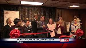 Chamber of Commerce holds ribbon cutting for North Macon Plaza [Video]