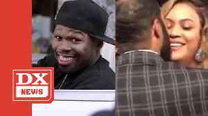 50 Cent Clowns Omari Hardwick Over Botched Beyoncé Kiss [Video]