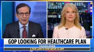 When Kellyanne Conway Gets A Healthcare Question [Video]