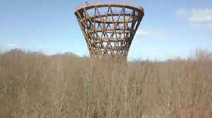 Sustainable 45-metre observation towers opens in Denmark [Video]