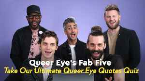 Watch the Fab Five See How Well They Remember Their Most Iconic Queer Eye Quotes [Video]
