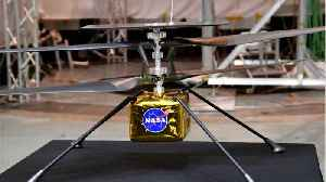 NASA's 'Mars Helicopter' Ready For The Red Planet [Video]