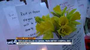 Shorewood prays for high school twins, one killed, the other hospitalized [Video]