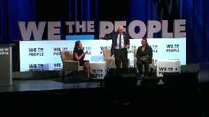 Kirsten Gillibrand and Bernie Sanders talk campaigns at the We The People summit [Video]