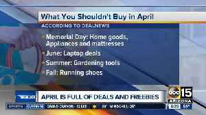 Best things to buy and avoid in April [Video]