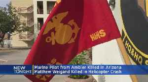 Marine From Pennsylvania Killed In Arizona Helicopter Crash [Video]