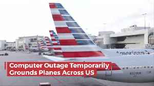 A Computer Outage Causes Serious Travel Delays [Video]