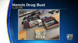 Police Find Guns, Heroin During Clairton Bust [Video]