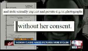Woman's lawsuit claims nude photo was posted online without consent [Video]