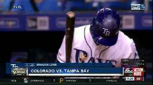 Brandon Lowe and Kevin Kiermaier combine to drive in 6 runs to help Rays beat Rockies 7-1 [Video]