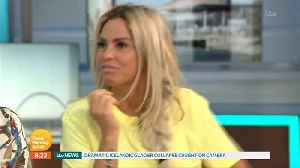 Katie Price Doesn't Realise She's Live When Late To Good Morning Britain [Video]