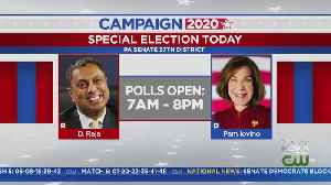 Voters Head To Polls For Pa. Senate Special Election [Video]