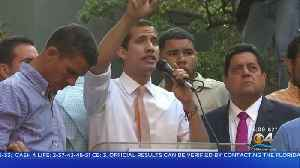 Venezuelan Opposition Leader Juan Guaidó Holds Rally In Caracas [Video]