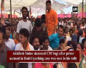 Only people with multiple FIRs raise slogans in CM Yogi rallies Akhilesh Yadav [Video]