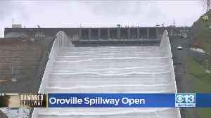 Water Flows Again At Oroville Dam Spillway After 2017 Crisis [Video]