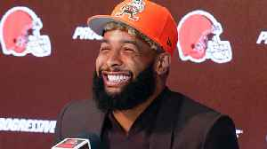 Best sounds from Odell Beckham Jr.'s star-studded introductory press conference with the Cleveland Browns [Video]