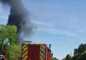 Black Smoke Rises From Deadly Fire at Crosby Chemical Plant [Video]