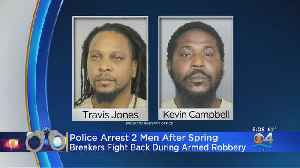 Gunman Jailed After Spring Breakers Foil Robbery [Video]